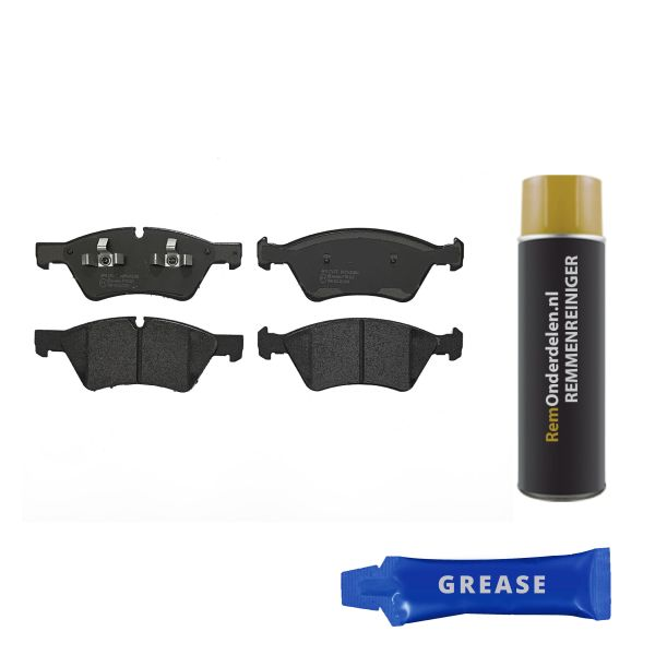 Remblokkenset voorzijde Brembo premium MERCEDES-BENZ E-KLASSE (W211) E 500 4-matic