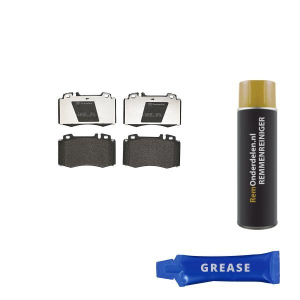 Remblokkenset voorzijde Brembo premium MERCEDES-BENZ M-KLASSE (W163) ML 350