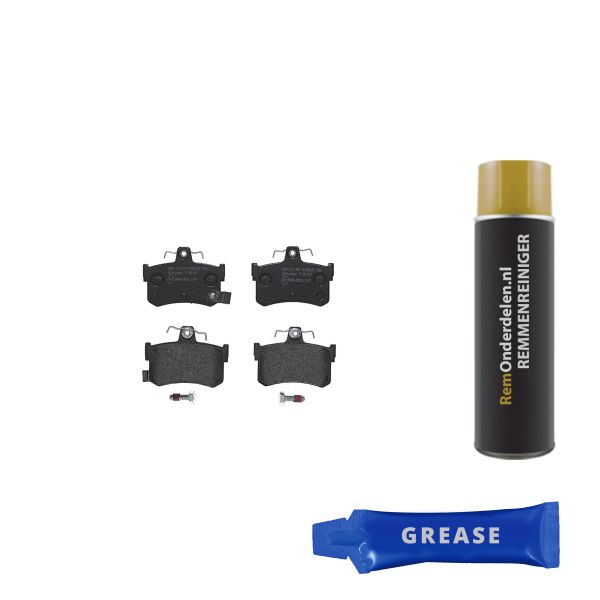 Remblokkenset achterzijde Brembo premium MG MGF 1,8 i VVC