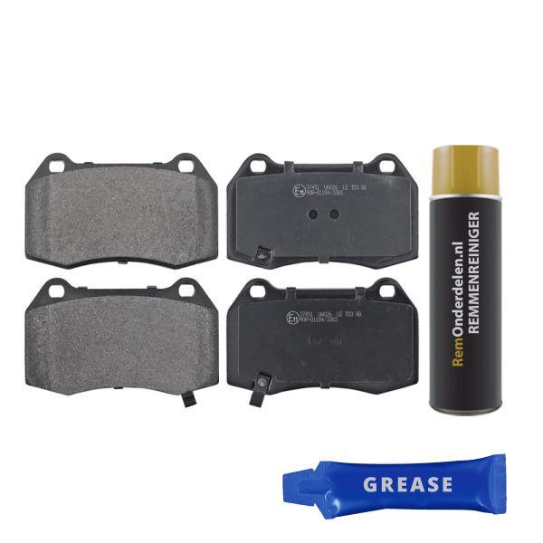 Remblokkenset voorzijde originele kwaliteit NISSAN 350 Z Coupé 3.5