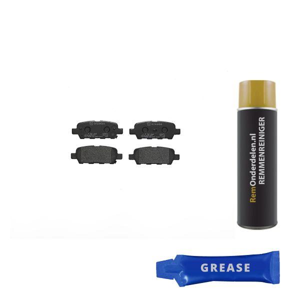 Remblokkenset achterzijde Brembo premium NISSAN 350 Z Coupé 3.5