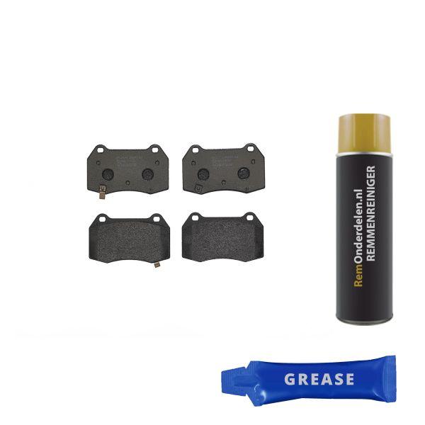 Remblokkenset voorzijde Brembo premium NISSAN 350 Z Coupé 3.5