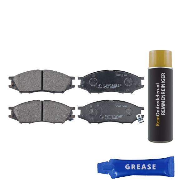 Remblokkenset voorzijde originele kwaliteit NISSAN ALMERA II Hatchback 1.8