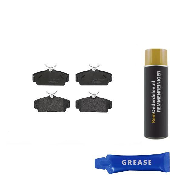 Remblokkenset voorzijde Brembo premium NISSAN ALMERA II Hatchback 1.8