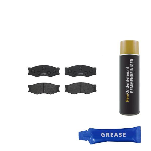 Remblokkenset voorzijde Brembo premium NISSAN BLUEBIRD 1.8 Turbo