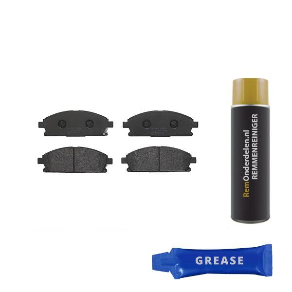 Remblokkenset voorzijde Brembo premium NISSAN ELGRAND 3.5 AWD