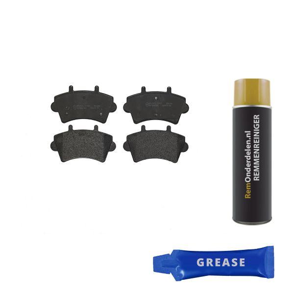 Remblokkenset voorzijde Brembo premium NISSAN INTERSTAR Bestelwagen dCi 80