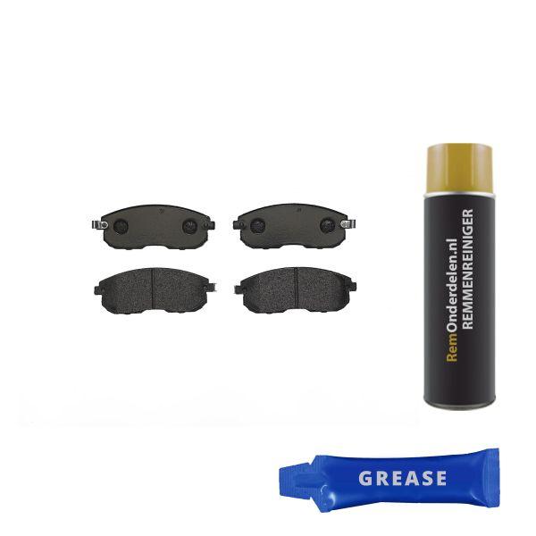 Remblokkenset voorzijde Brembo premium NISSAN JUKE 1.6 DIG-T