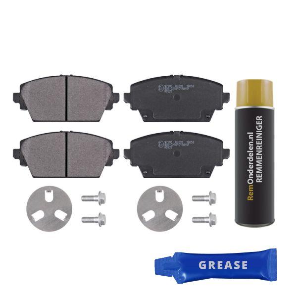 Remblokkenset voorzijde originele kwaliteit NISSAN PRIMERA Hatchback 1.6