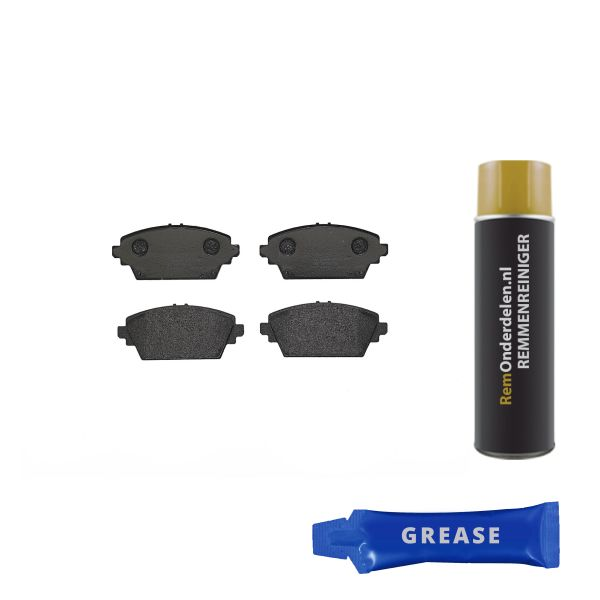 Remblokkenset voorzijde Brembo premium NISSAN PRIMERA Hatchback 1.6