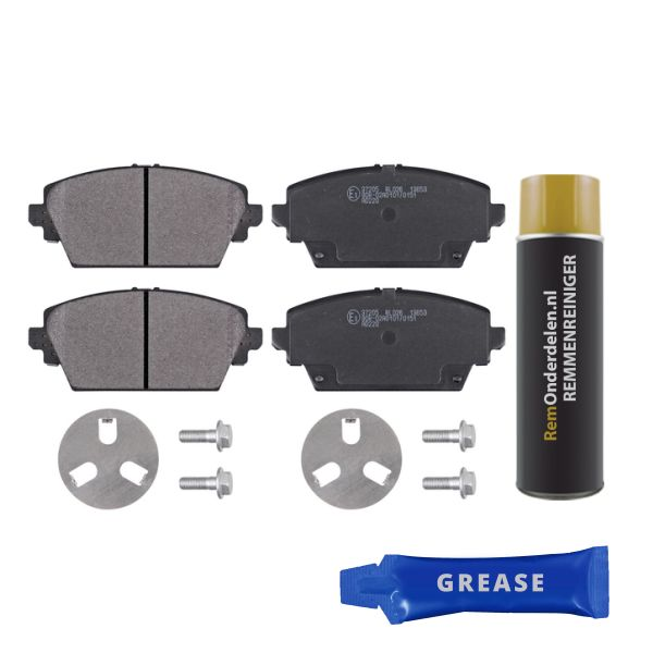 Remblokkenset voorzijde originele kwaliteit NISSAN PRIMERA Hatchback 1.9 dCi