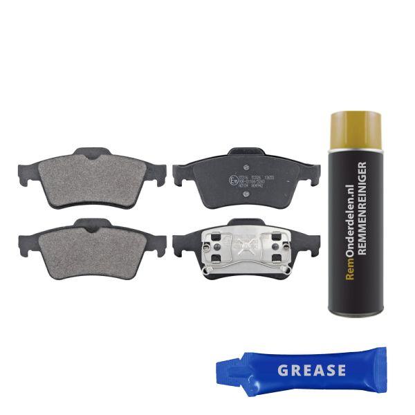 Remblokkenset achterzijde originele kwaliteit NISSAN PRIMERA Hatchback 2.0