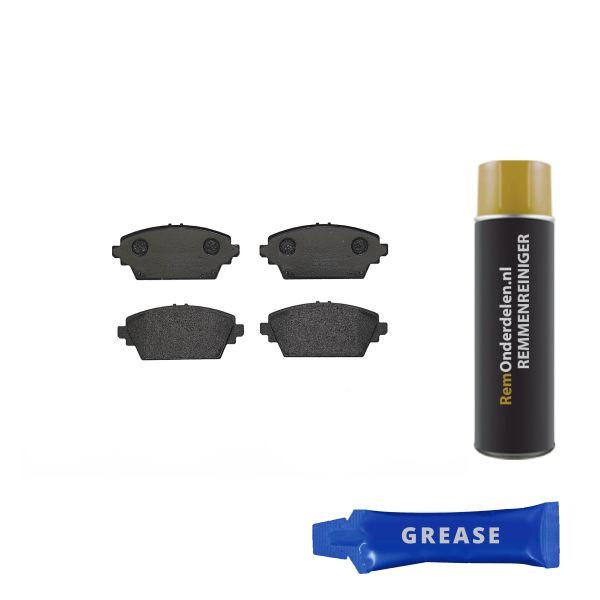 Remblokkenset voorzijde Brembo premium NISSAN PRIMERA Hatchback 2.0