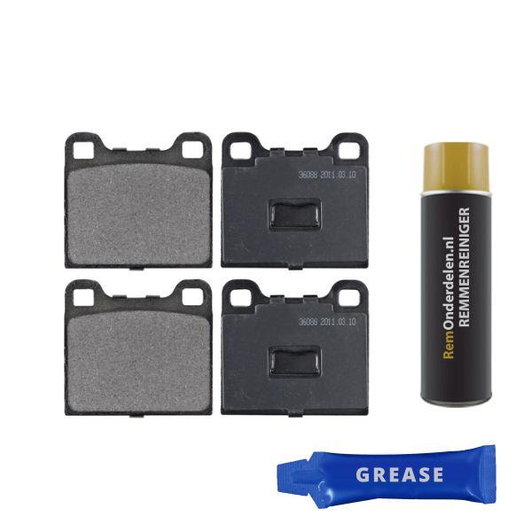 Remblokkenset voorzijde originele kwaliteit VW VOLKSWAGEN DERBY (86C, 80) 1.3