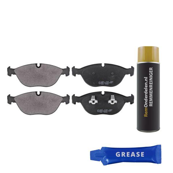 Remblokkenset voorzijde originele kwaliteit VW VOLKSWAGEN GOLF IV (1J1) 3.2 R32 4motion