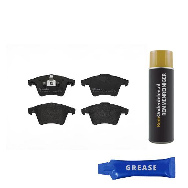 Remblokkenset voorzijde Brembo premium VW VOLKSWAGEN MULTIVAN V (7HM, 7HN, 7HF, 7EF, 7EM, 7EN) 2.0