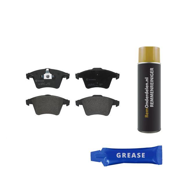 Remblokkenset voorzijde Brembo premium VW VOLKSWAGEN MULTIVAN V (7HM, 7HN, 7HF, 7EF, 7EM, 7EN) 2.5 TDI 4motion