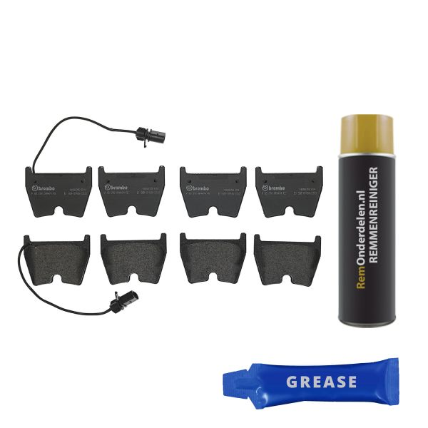 Remblokkenset voorzijde Brembo premium VW VOLKSWAGEN PHAETON (3D1, 3D2, 3D3, 3D4, 3D6, 3D7, 3D8, 3D9) 5.0 V10 TDI 4motion