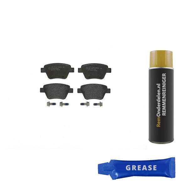 Remblokkenset achterzijde Brembo premium VW VOLKSWAGEN TOURAN (1T1, 1T2) 1.6