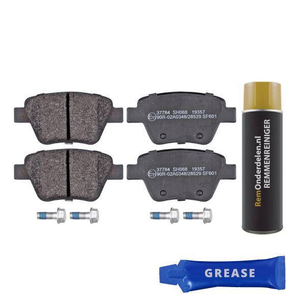 Remblokkenset achterzijde originele kwaliteit VW VOLKSWAGEN TOURAN (1T1, 1T2) 2.0 TDI 16V