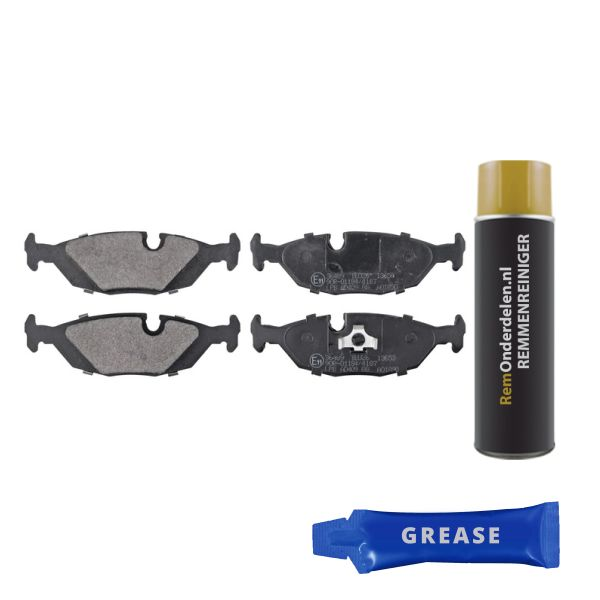 Remblokkenset, schijfrem BMW Z4 Roadster (E85) 2.5 si 36489