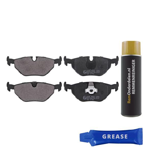 Remblokkenset, schijfrem BMW Z4 Roadster (E85) 2.5 si 36908