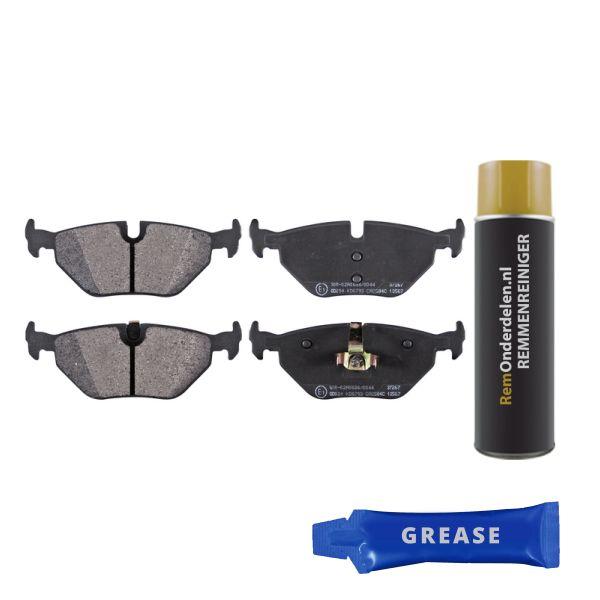 Remblokkenset, schijfrem BMW Z4 Roadster (E85) 2.5 si 37267