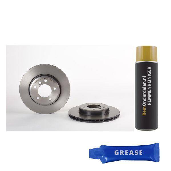 Remschijf BMW Z4 Roadster (E85) 2.5 si 09.7701.11