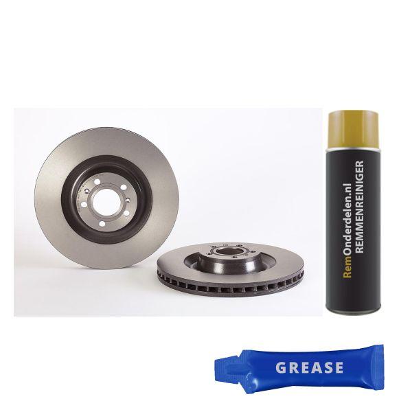 Remschijf VW VOLKSWAGEN PHAETON (3D1, 3D2, 3D3, 3D4, 3D6, 3D7, 3D8, 3D9) 3.0 V6 09.9915.11