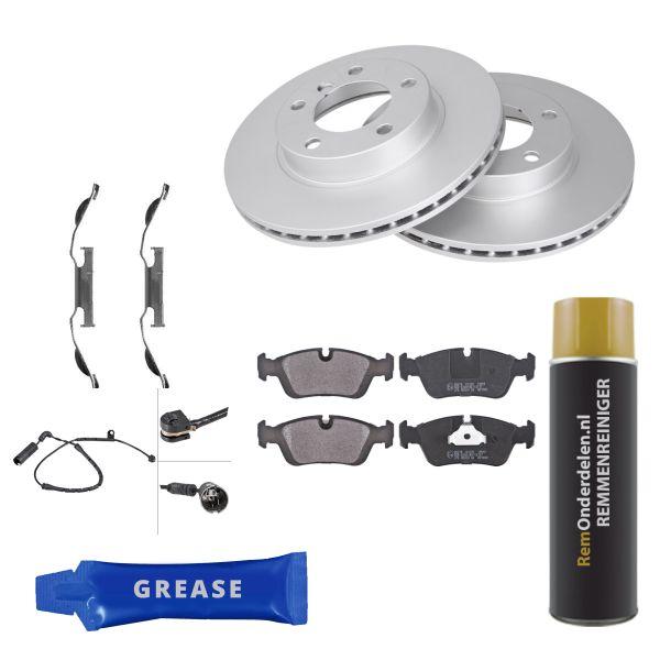 Voordeelpakket remschijven & remblokken voorzijde BMW 3 Compact (E46) 316 ti