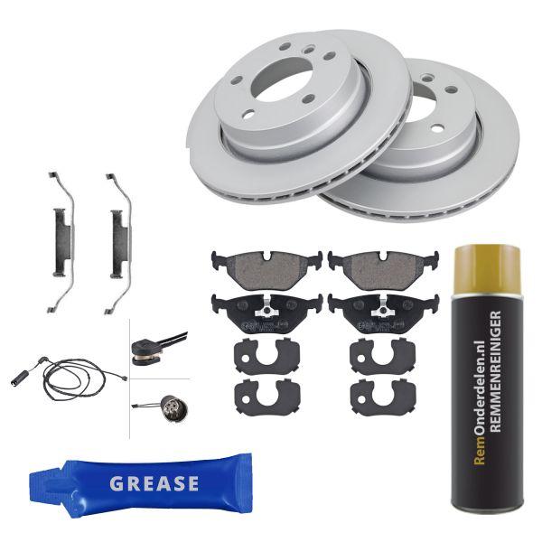 Voordeelpakket remschijven & remblokken achterzijde BMW 3 Compact (E46) 316 ti