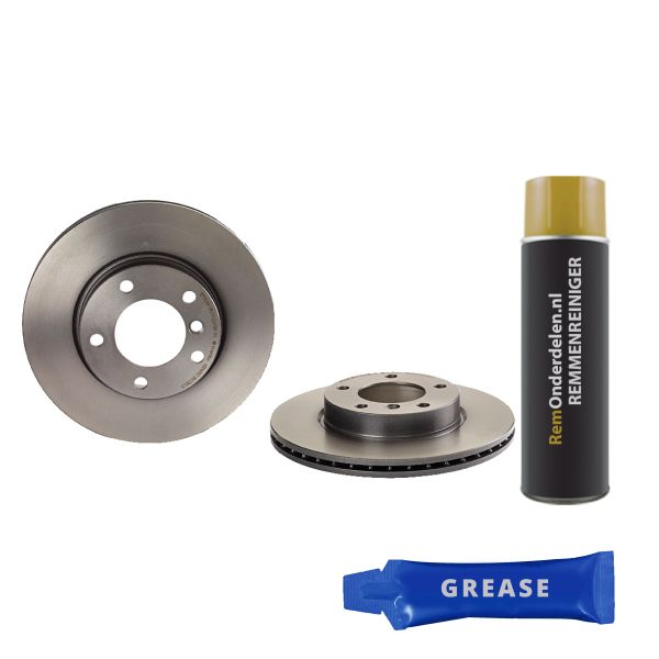 Remschijven voorzijde Brembo premium BMW 3 (E46) 316 i