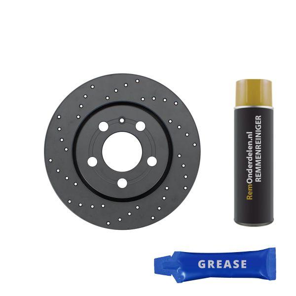 Geperforeerde remschijven achterzijde Sport kwaliteit BMW 3 (E90) 330 d
