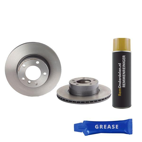 Remschijven voorzijde Brembo premium BMW 5 (E39) 523 i