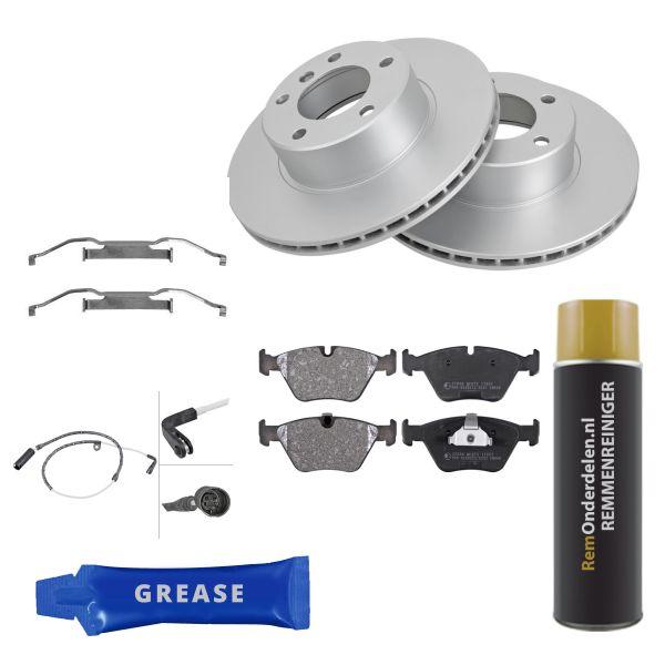 Voordeelpakket remschijven & remblokken voorzijde BMW 5 (E39) 523 i