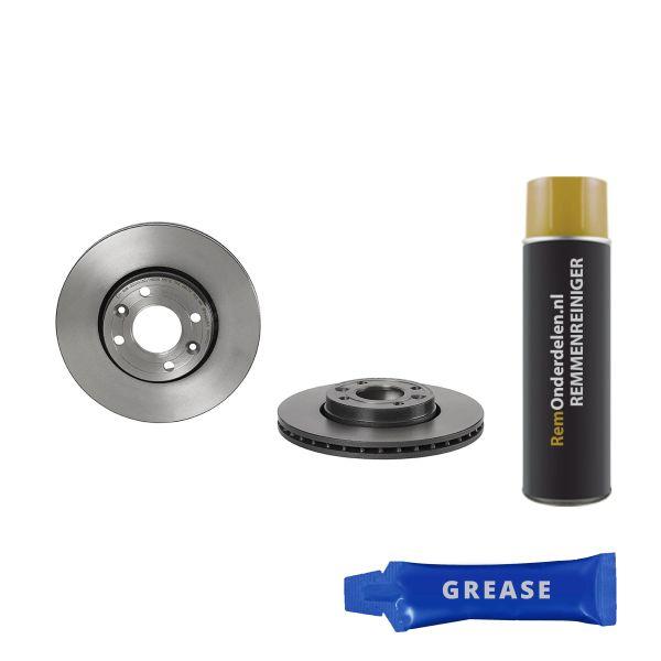 Remschijven voorzijde Brembo premium RENAULT CLIO IV Grandtour 1.5 dCi 110
