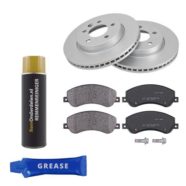 Voordeelpakket remschijven & remblokken voorzijde VW VOLKSWAGEN AMAROK (2HA, 2HB, S1B, S6B, S7A, S7B) 3.0 TDI 4motion