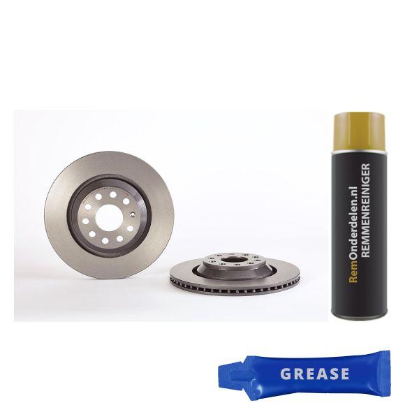Remschijf achterzijde Brembo premium VW VOLKSWAGEN CC (358) 1.8 TSI