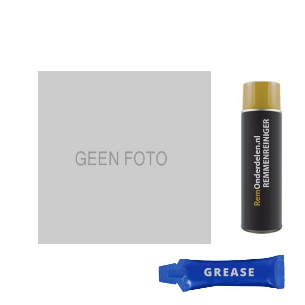 Voordeelpakket remschijven & remblokken achterzijde VW VOLKSWAGEN GOLF V (1K1) 1.6 FSI
