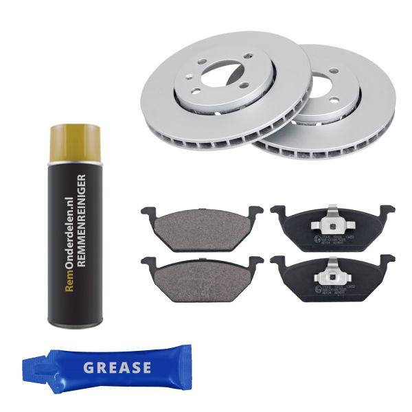 Voordeelpakket remschijven & remblokken voorzijde VW VOLKSWAGEN UP! (121, 122, BL1, BL2, BL3, 123) 1.0
