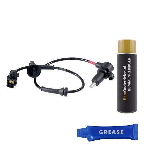 ABS-sensor achterzijde, rechts CHEVROLET AVEO / KALOS Hatchback 1.2