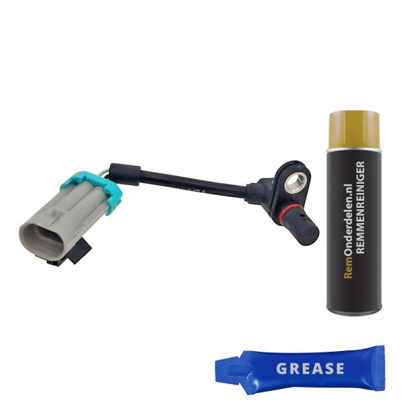 ABS-sensor voorzijde, links of rechts CHEVROLET CAPTIVA 2.4 LPG 4WD