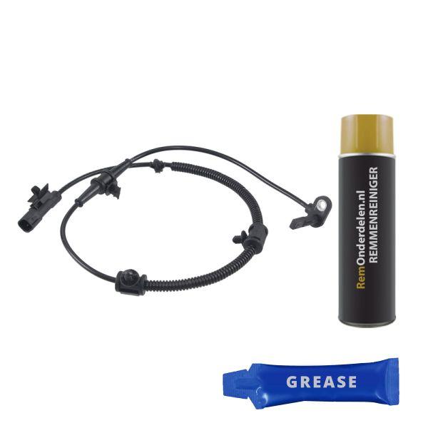 ABS-sensor voorzijde, links of rechts CHEVROLET CRUZE 1.6